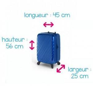 Comment bien mesurer le bagage cabine?